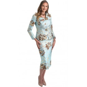 Lily and Taylor 4446 Women suit and dress