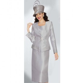 Lily and Taylor 3484 Womens 3 Piece Church Suit