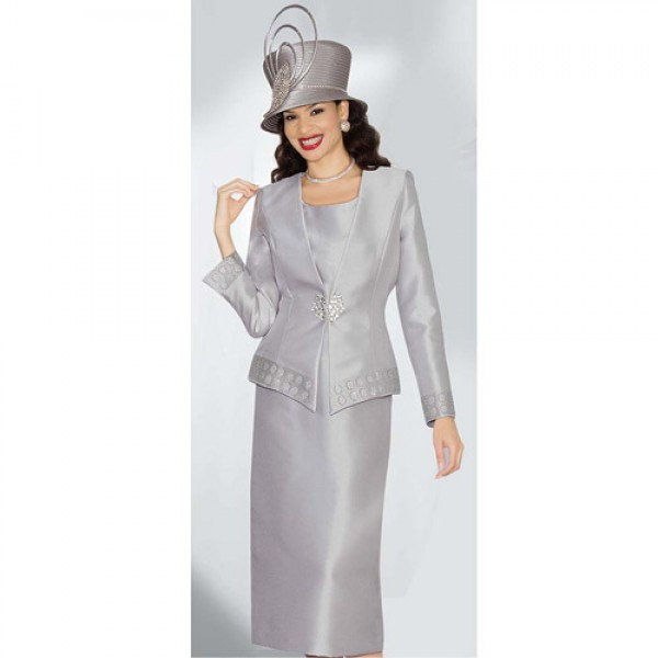 57afa60a379 Lily and Taylor 3484 Womens 3 Piece Church Suit