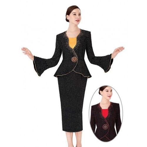 Serafina 3954 women suit and dress