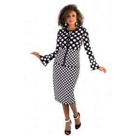 Tally Taylor 5203 Knit Suit