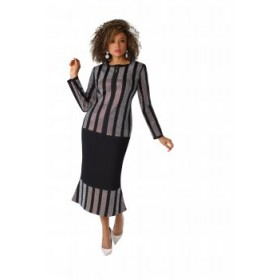 Tally Taylor 7243 Knit Suit