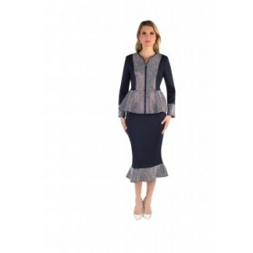 Tally Taylor 7246 Knit Suit
