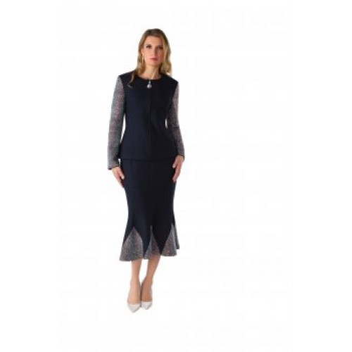 Tally Taylor 7247 Knit Suit