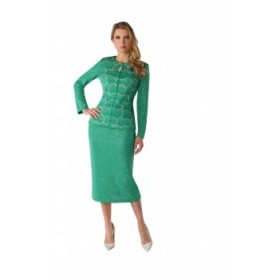 Tally Taylor 7248 Knit Suit