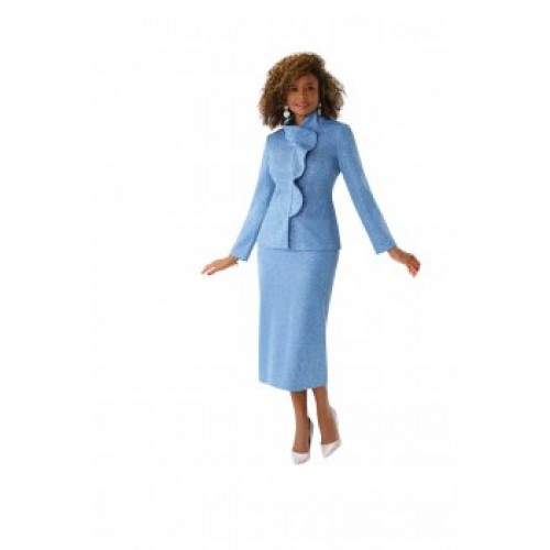 Tally Taylor 7251 Knit Suit.