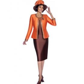 8451aed936 Terramina 7637 Ladies Two Tone Church Suit